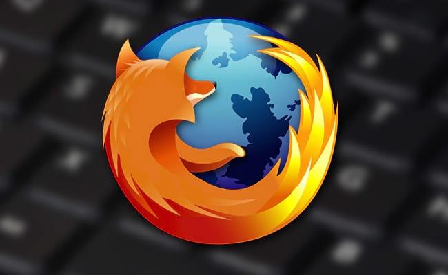 Lista de atalhos do Firefox