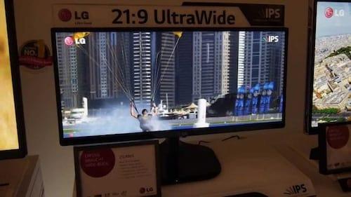 LG lança novo monitor Ultrawide de 25 polegadas