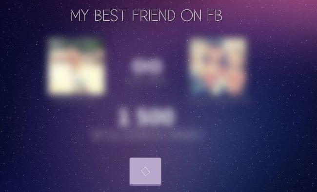 Descubra quem é o seu melhor amigo no Facebook