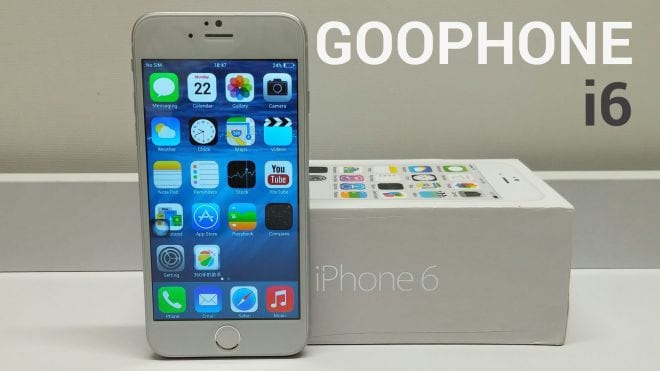 iPhone 6 clonado roda com Android