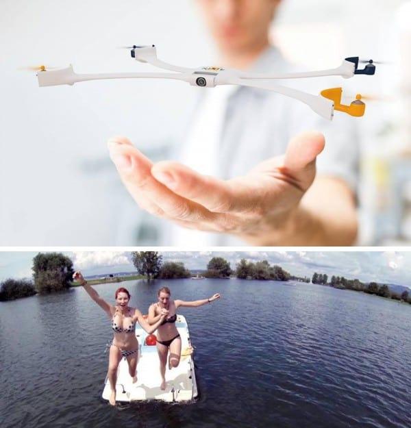 Nixie, pulseira que vira drone é finalista do concurso da Intel