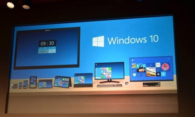 Microsoft pula o 9 e anuncia o Windows 10