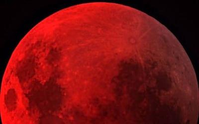 Mais uma nova Lua de Sangue surgirá nesta quarta-feira