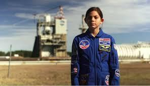 Garota de 13 anos treina para viajar a Marte