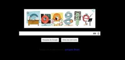 Doodle do Google presta homenagem ao Dia dos Professores