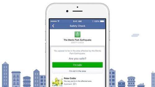 Facebook lança ferramenta para usuário avisar que está bem após algum desastre