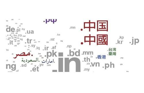 Lista de extensões de domínios por países e sites mais visitados de cada um