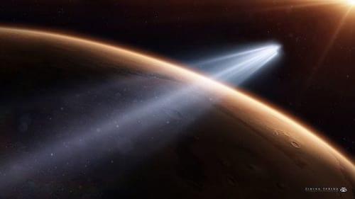 Cometa passa raspando por Marte, informa pesquisadores e astrônomos