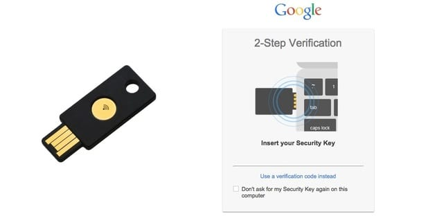 Google - Security Key