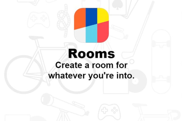 Rooms, o novo aplicativo do Facebook
