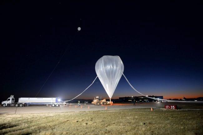 Balão usado pelo executivo.