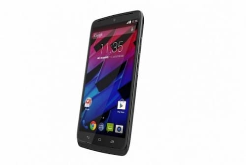 Motorola lança o topo de linha Moto Maxx