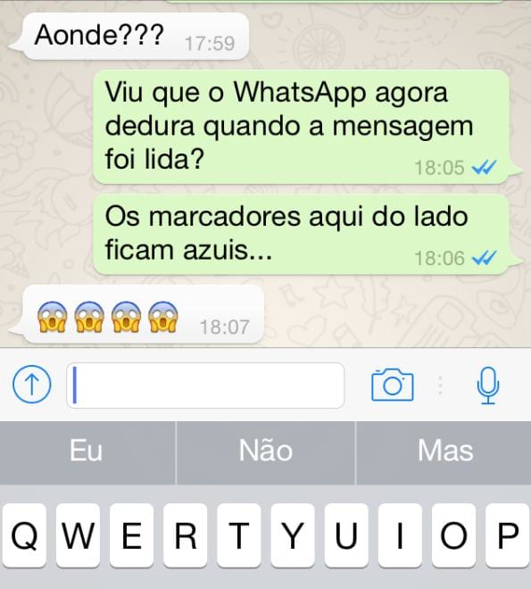 WhatsApp começa a avisar quando uma mensagem foi lida
