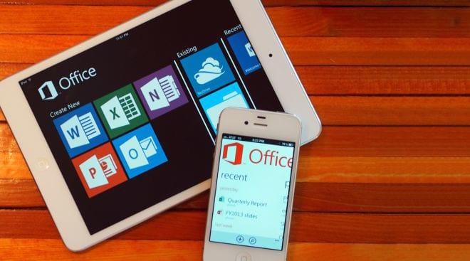 Microsoft Office passa ser gratuito para Android e iOS