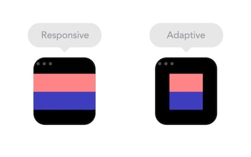 8 Gif animados que diferem o design responsivo do adaptativo