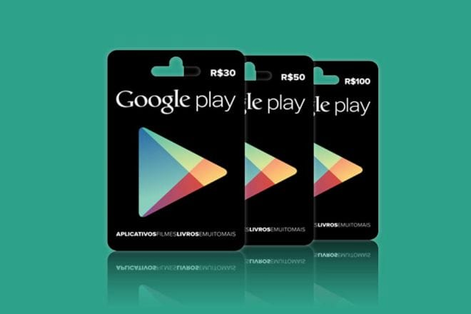 Google Play passa a aceitar cartões pré-pagos no Brasil