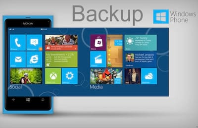 Como fazer backup no Windows Phone