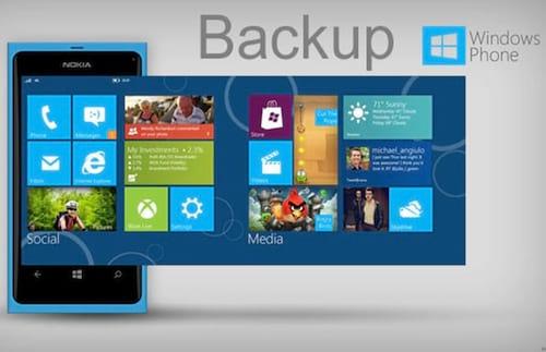 Como fazer backup no Windows Phone