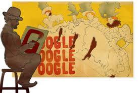 Doodle do Google homenageia Henri de Toulouse-Lautrec