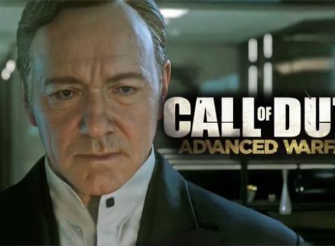 Kevin Spacey em Call of Duty: Advanced Warfare