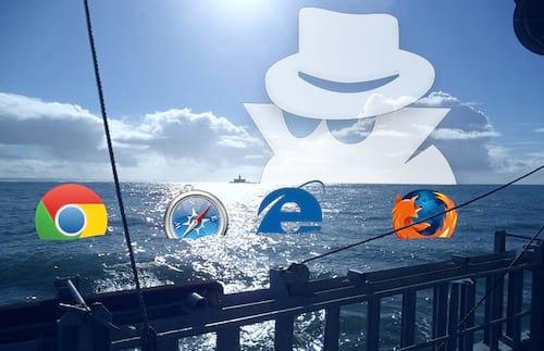 Como navegar em anônimo?