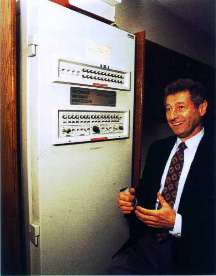 Primeira Interface do Processador de Mensagens da Arpanet em 1969