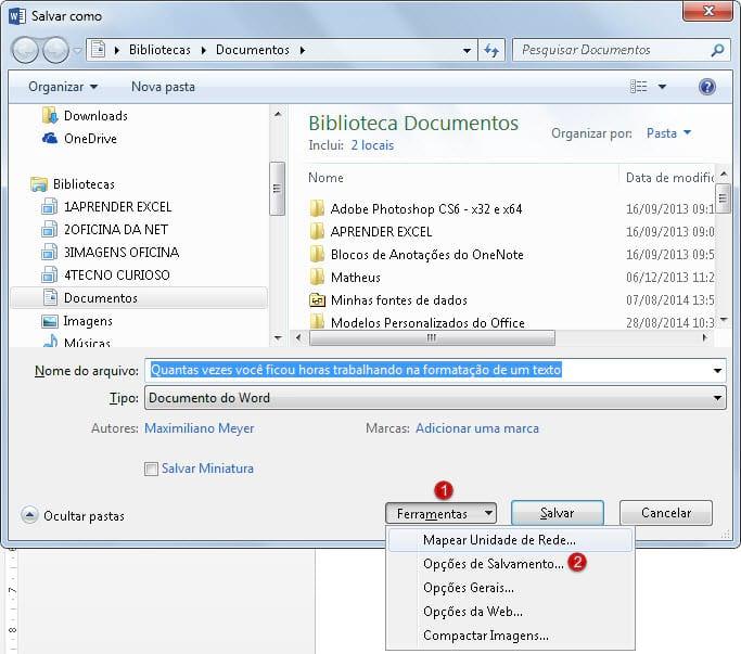 Como garantir a formatação de seu arquivo quando for aberto em outro pc?