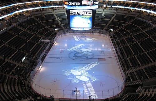 Como são feitas e decoradas as quadras de Hockey?