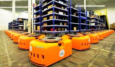 Amazon passa a contar com a ajuda de mais de 15 mil rob�s em seus dep�sitos de estoques