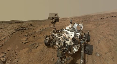 Exploração da Curiosity ajuda a responder como a água formou a paisagem em Marte