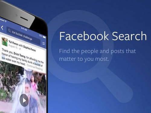 Facebook permite agora busca por postagens antigas
