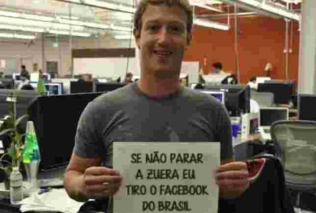 Após invasão brasileira, Zuckerberg bloqueia comentários em posts no Facebook