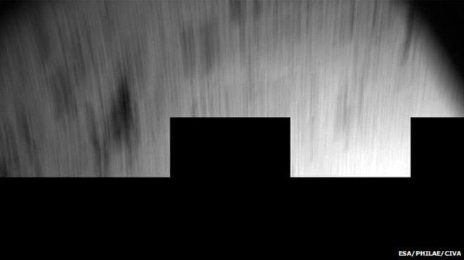 ESA revela imagem do pouso da Philae no cometa 67P