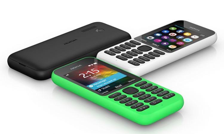 Nokia 215, o mais novo celular de baixo custo da Microsoft