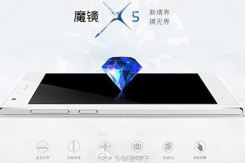 Magical Mirror X5, o novo smartphone da Desay com tela inquebrável