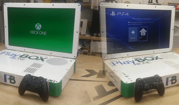 Conheça o PlayBox 4One, o videogame dois em um