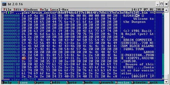 Os primeiros vírus de computador da história