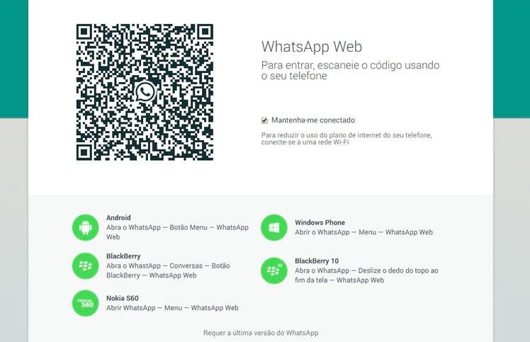 Como usar o WhatsApp no computador?
