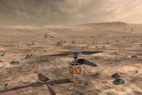 NASA planeja enviar helicóptero a Marte