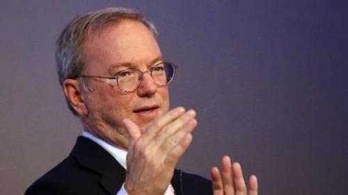 A Internet vai acabar; diz ex-diretor executivo do Google, Eric Schmidt