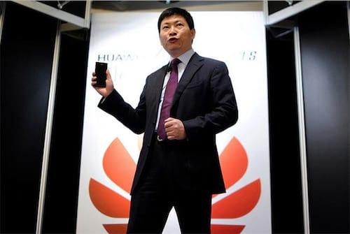 Huawei diz que Samsung é sua principal rival no mercado de smartphones