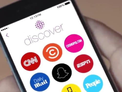 Discover, a nova ferramenta do Snapchat