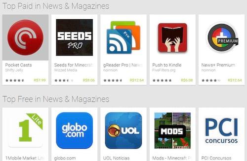 6 apps de notícias para Android