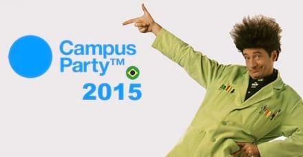 Campus Party Brasil 2015 começa amanhã