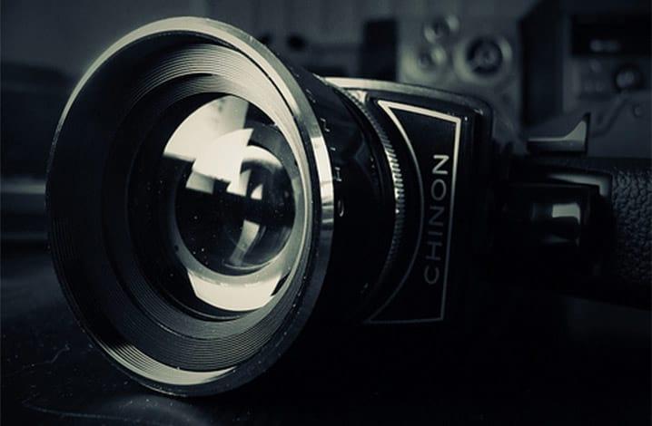 Como funciona uma câmera de cinema?