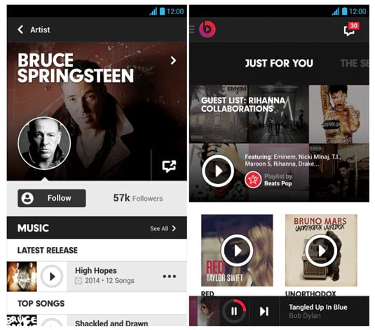 Apple planeja aplicativo de streaming de música para Android