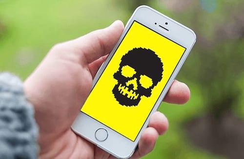 Praga digital para iPhone captura chamadas e mensagens de texto