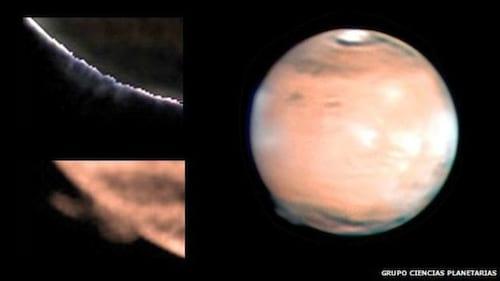 Névoa misteriosa de Marte intriga cientistas da ESA