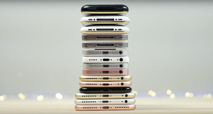 Todos os iPhone