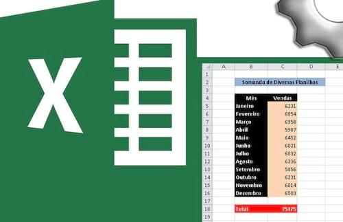 Somando dados de diferentes planilhas no Excel